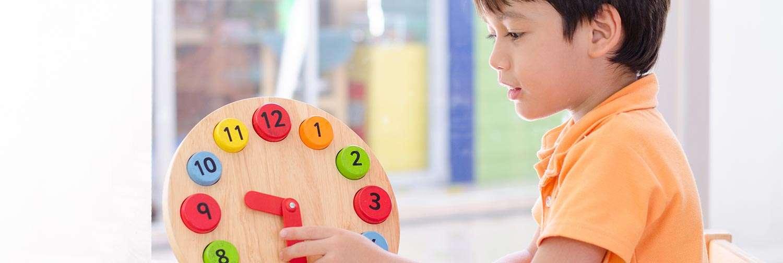 child-clock