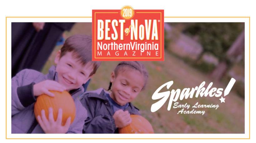 Best Daycare and Preschool Award in Northern Virginia Magazine